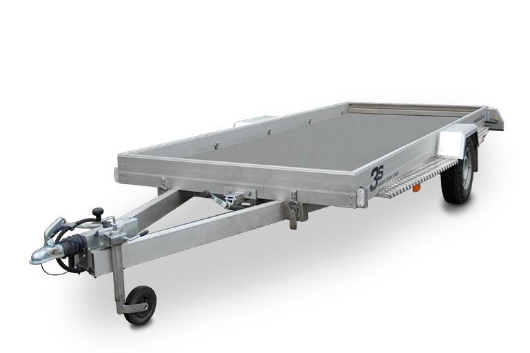 Prima Köp 3s Alutrailers P500 Aluminium Släpvagn på TrailerOnline.se BJ-19